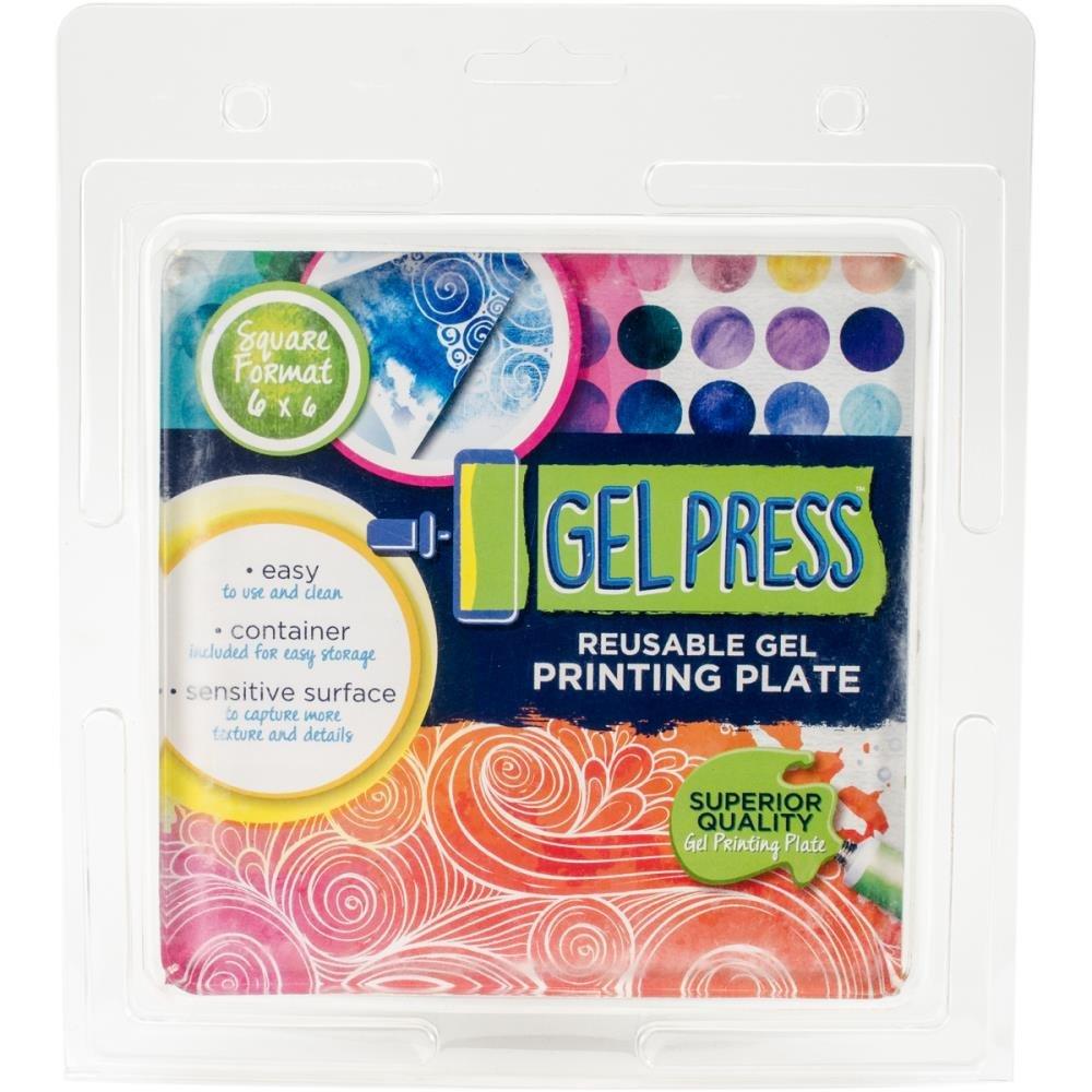 Gel Press-6x6 Plate