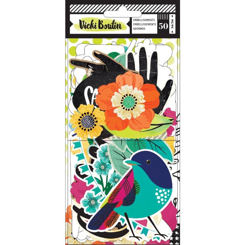 Vicki Boutin Color Kaleidoscope Ephemera-Icons