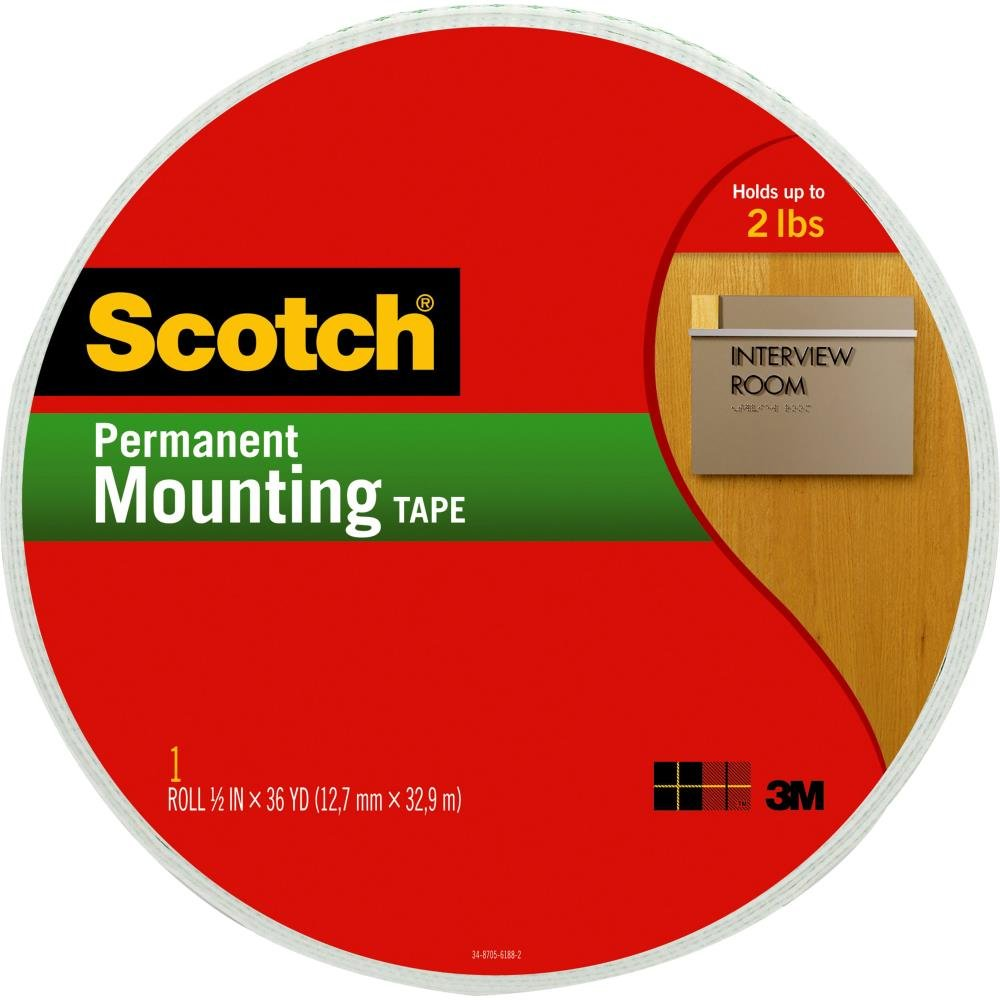 Scotch-Foam Mounting Tape