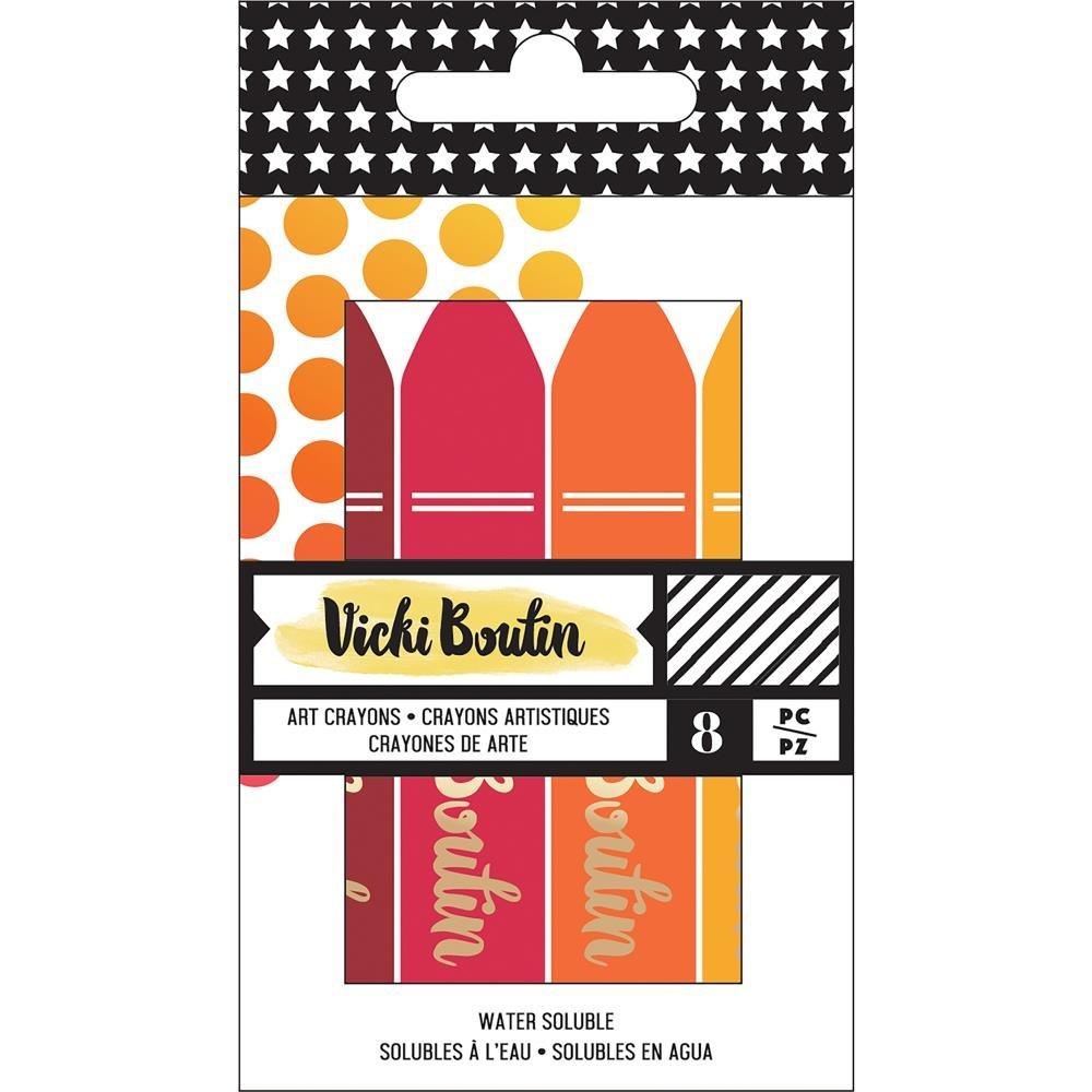 Vicki Boutin Mixed Media Crayons-Set 1 Warm