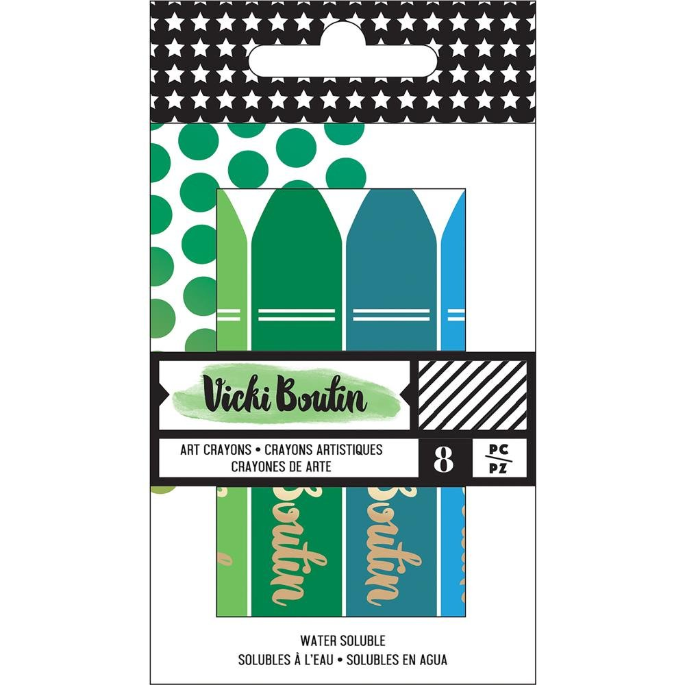 Vicki Boutin Mixed Media Crayons-Set 2 Cool