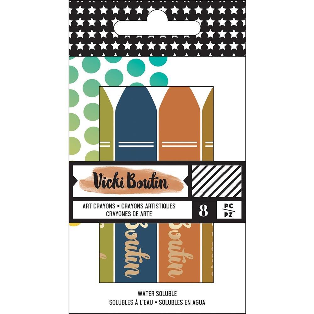 Vicki Boutin Mixed Media Crayons-Set 3 Neutrals