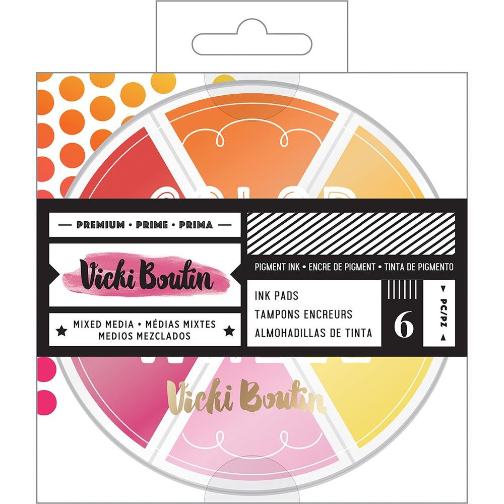 Vicki Boutin Color Wheel-Warm