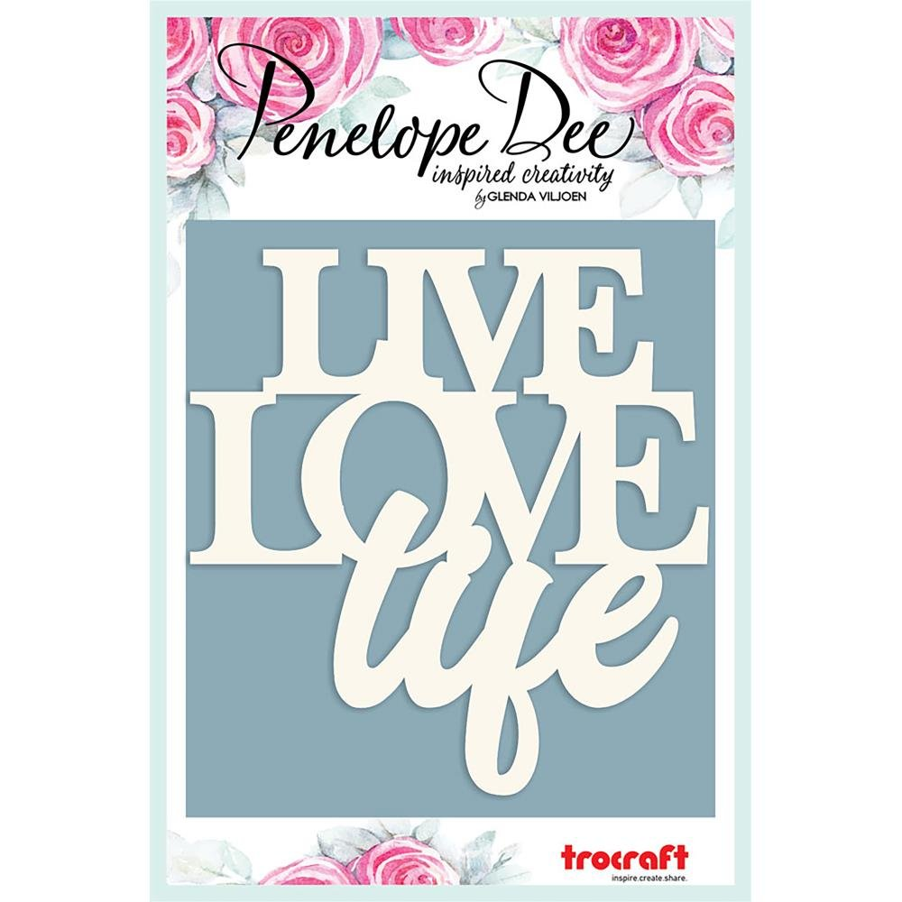 Paperboard Title-Live Love Life