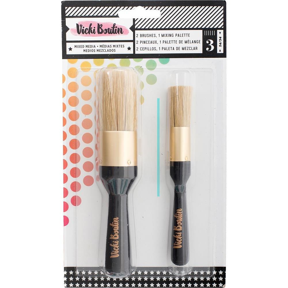Vicki Boutin-Stencil Brushes