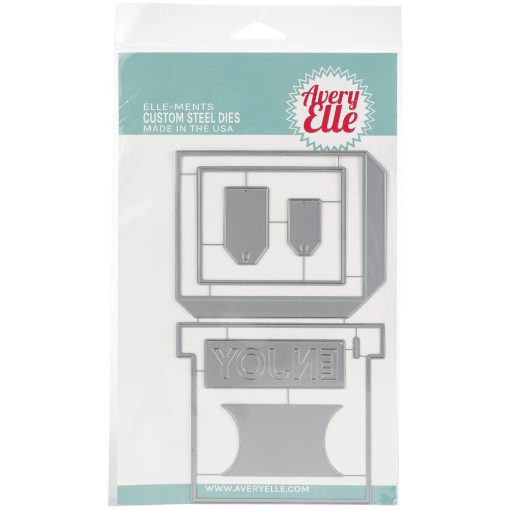 Avery Elle-Gift Box Card Holder Die (used to make store sample)