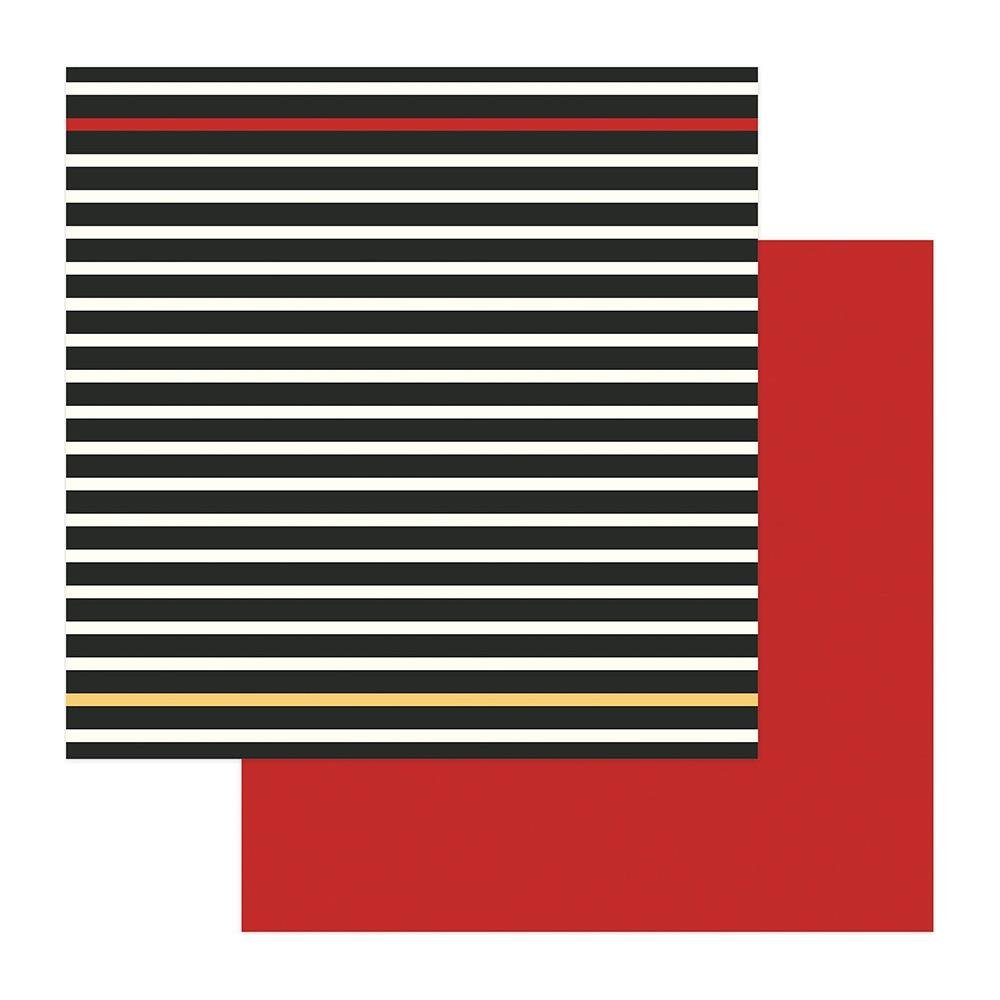 A Day At The Park-Black Stripe/Red