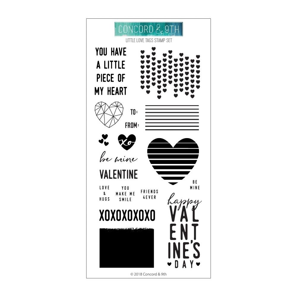 Concord & 9th-Little Love Tags Stamp