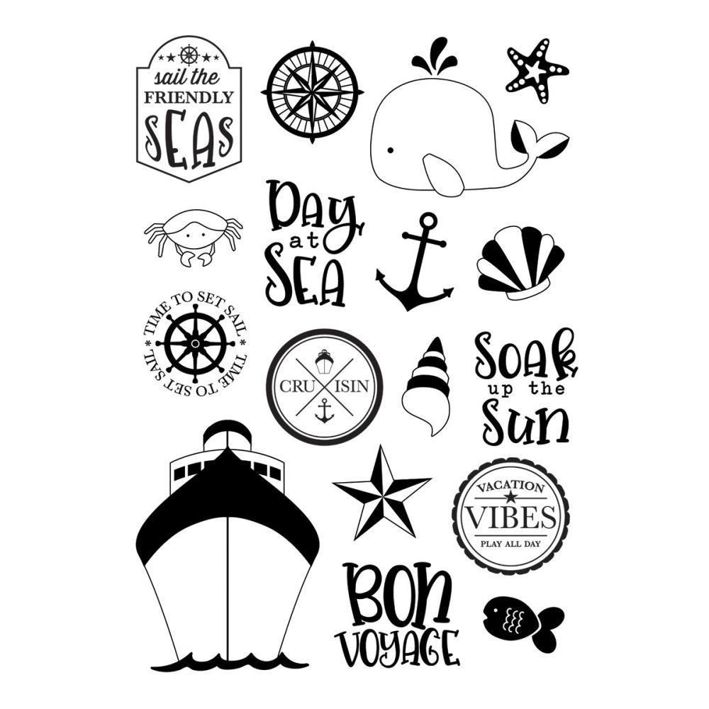 Cruisin-Set Sail Stamp