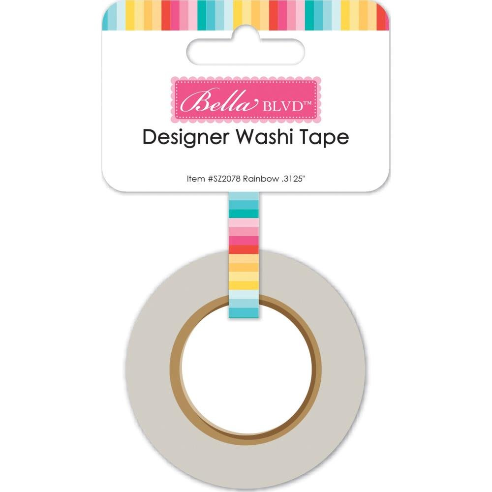 Splash Zone-Rainbow Washi Tape