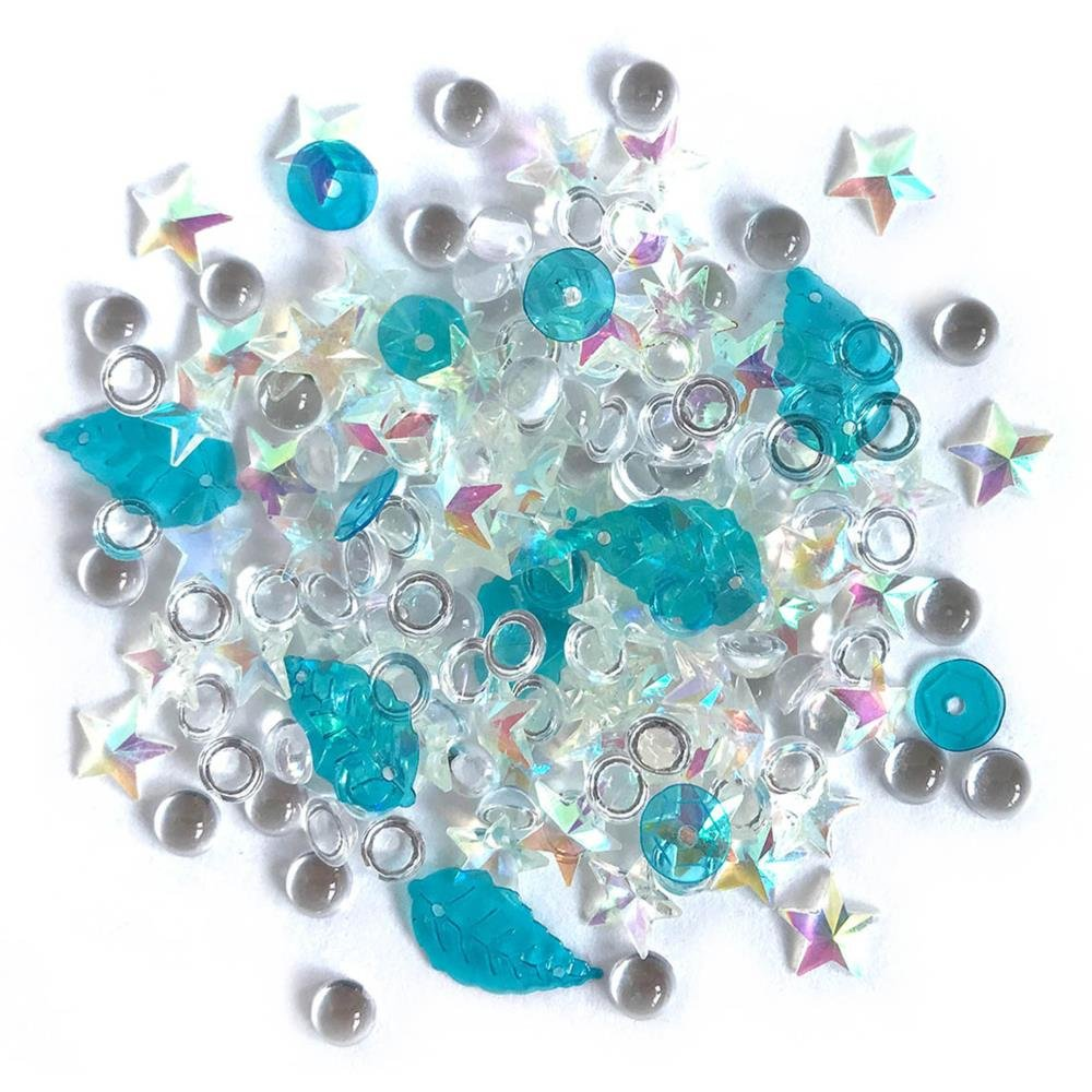 Sparkletz Embellishment Pack-Salt Water