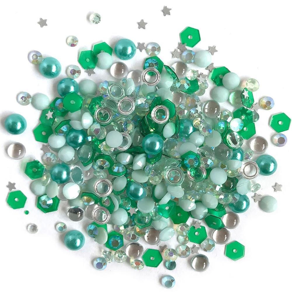 Sparkletz Embellishment Pack-Aquamarine