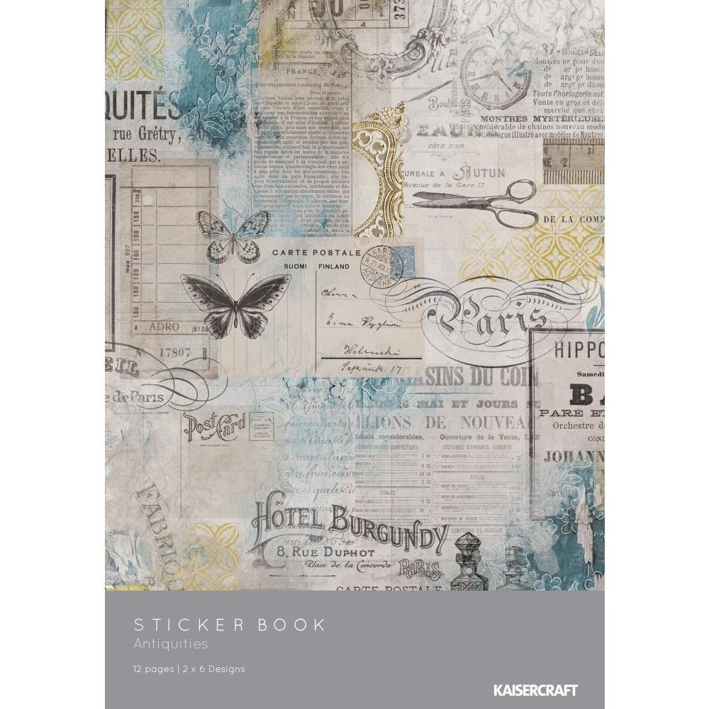 Antiquities-Sticker Book