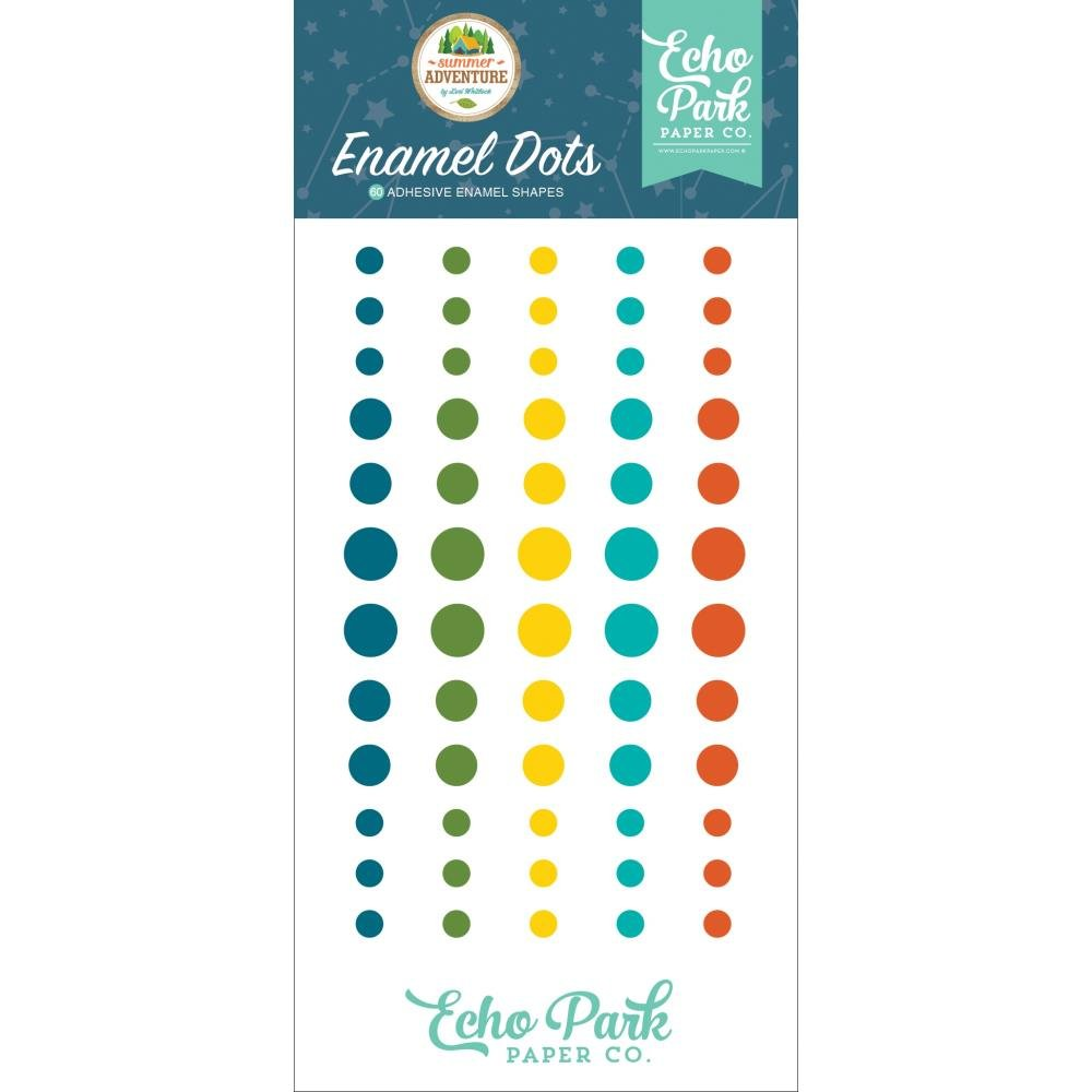 Summer Adventure-Enamel Dots