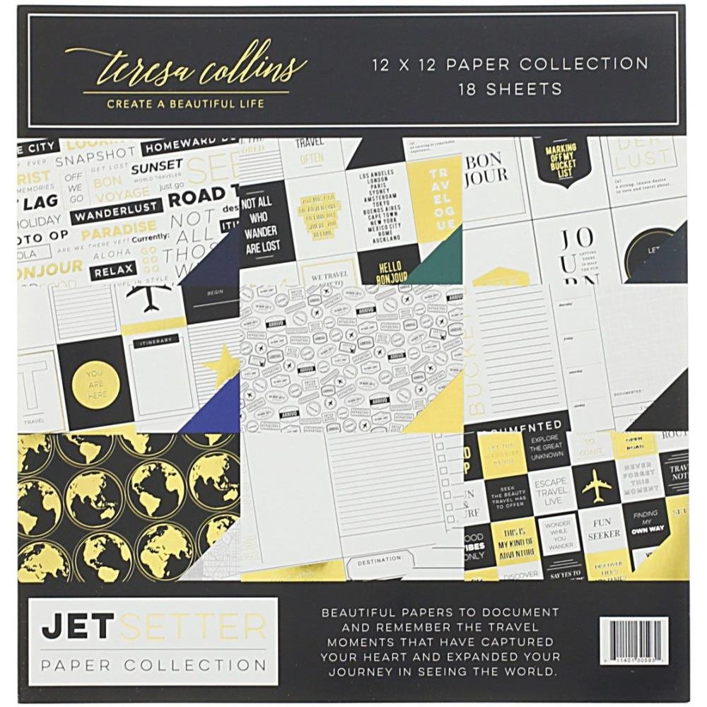 Teresa Collins Jet Setter Collection Pack