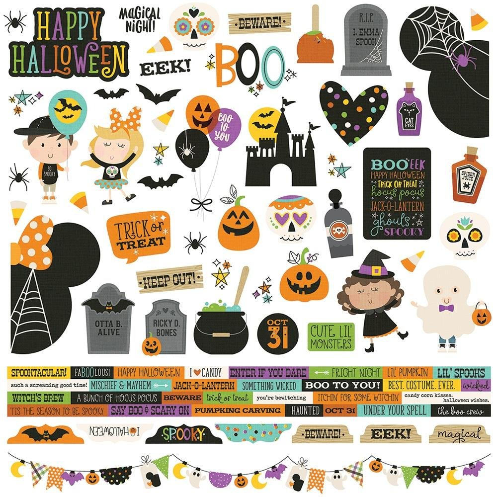 Say Cheese Halloween-Combo Stickers