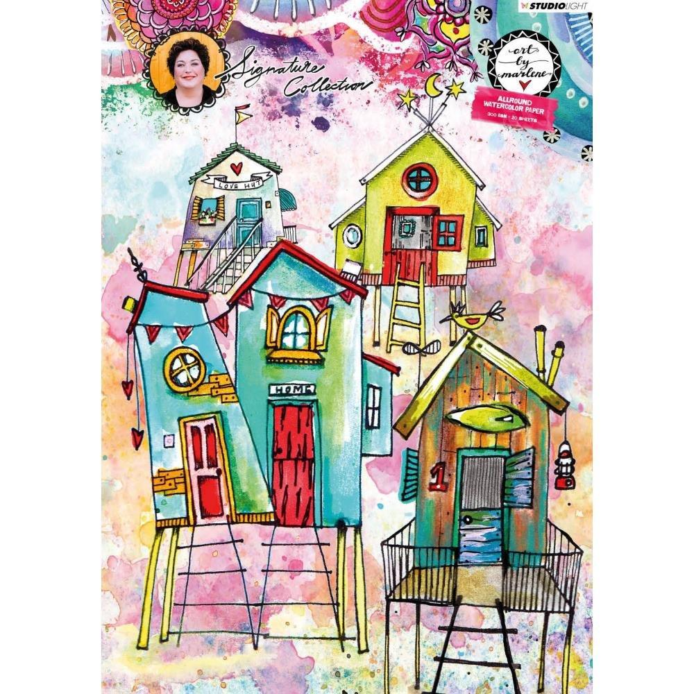 Studio Light-Watercolour Paper A4