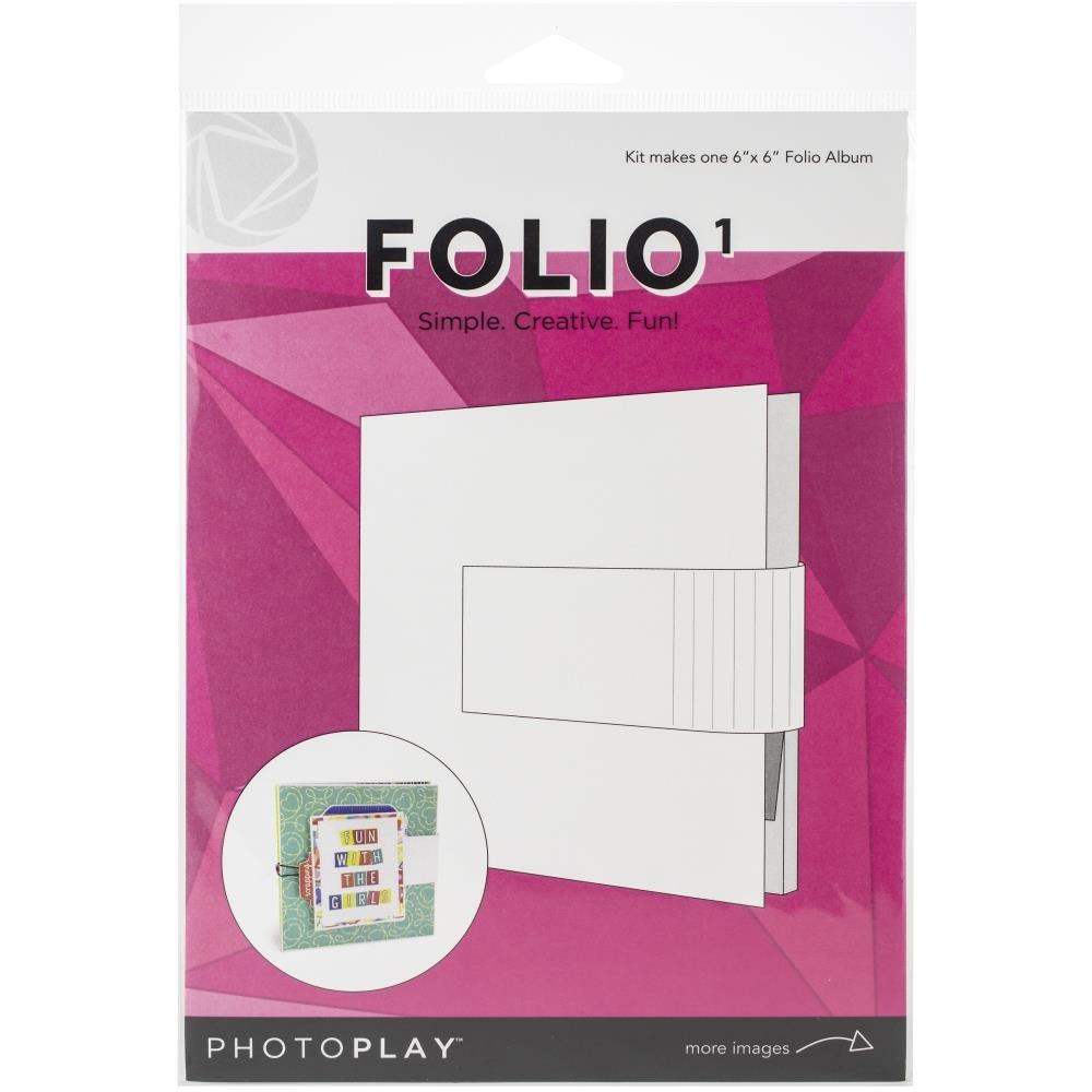 Photoplay Folio 1-White