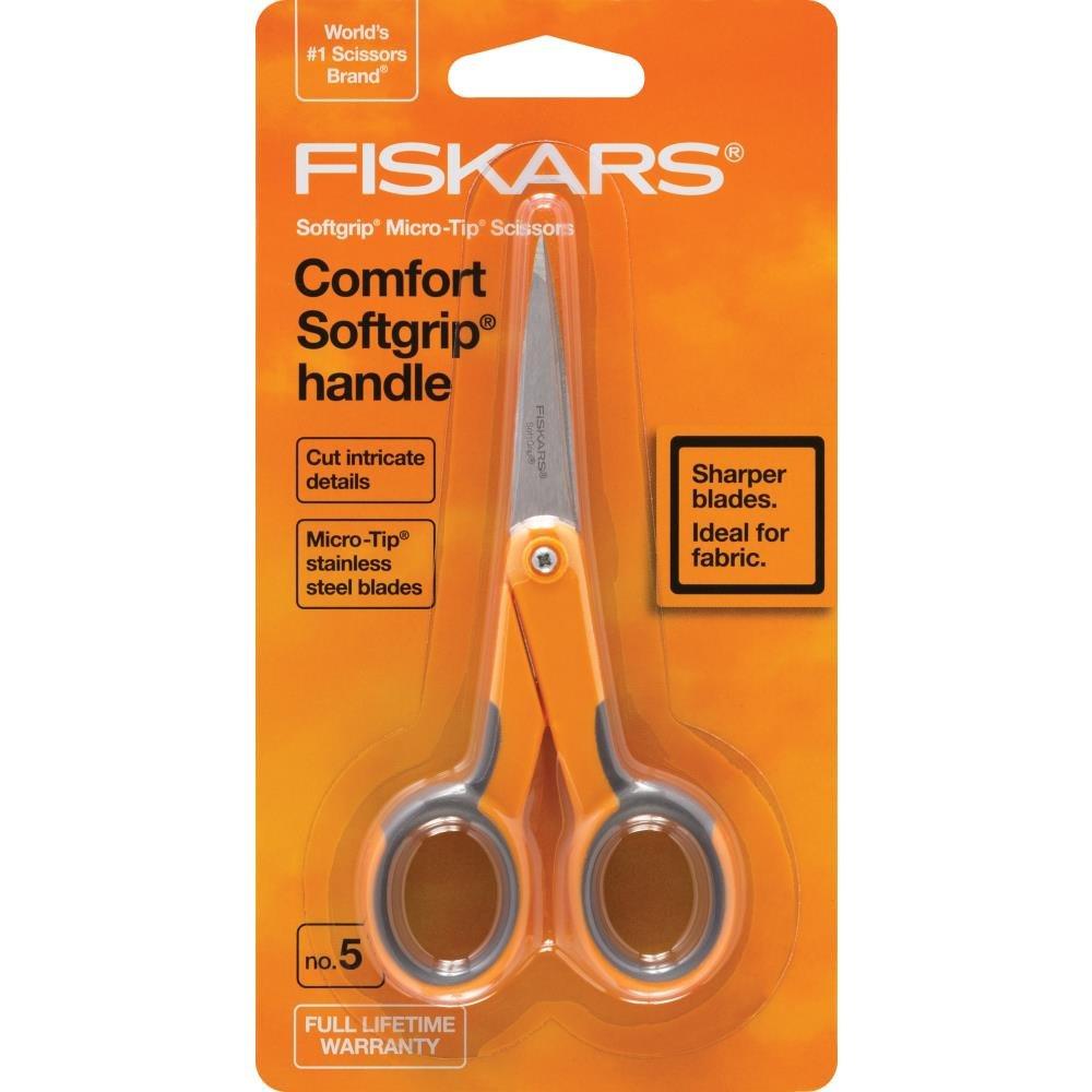 Fiskars-Soft Grip Micro Detail Scissors 5