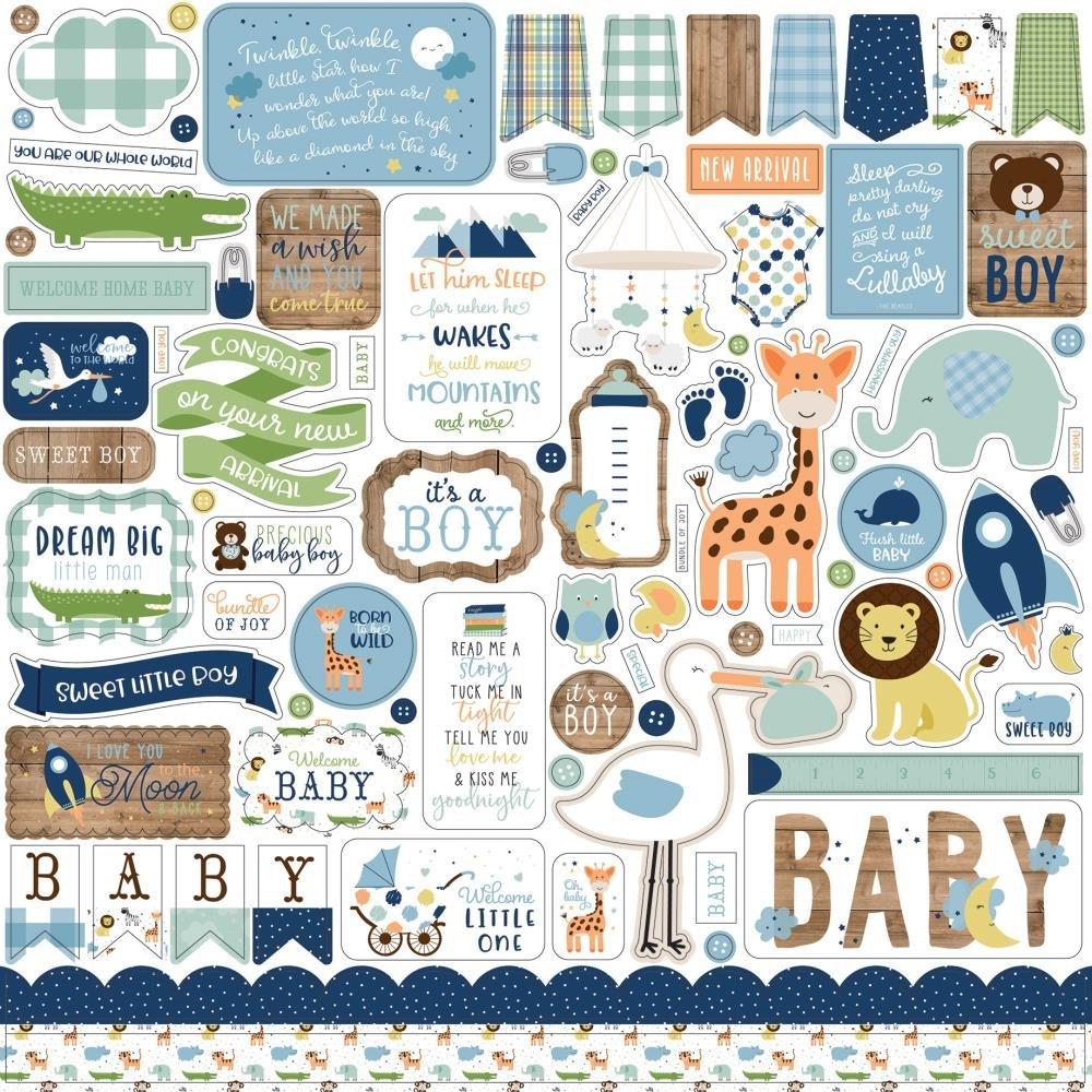 Baby Boy Element Stickers