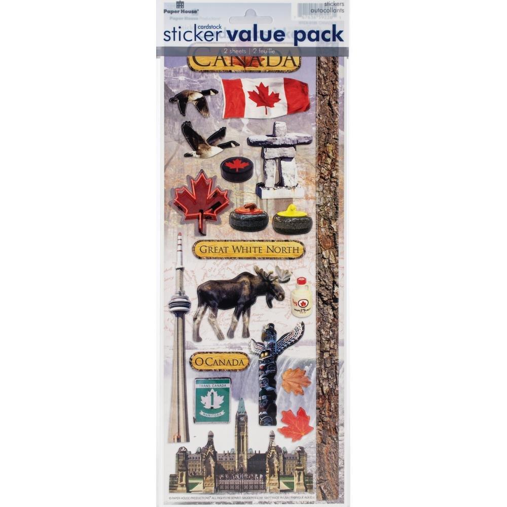 Sticker Value Pack-Canada