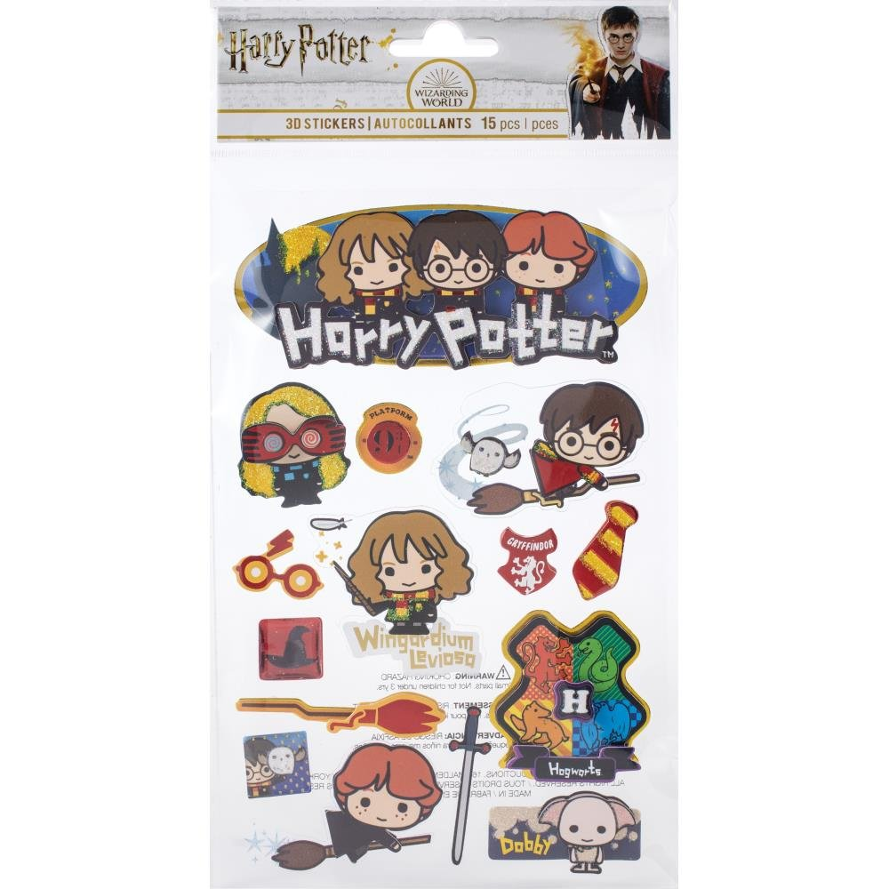 Harry Potter Chibi 3D Stickers