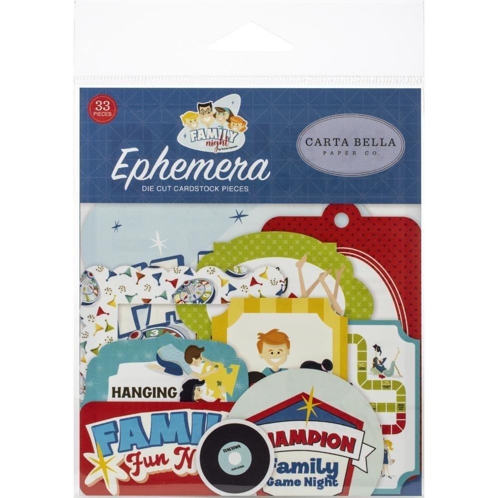 Family Night Ephemera-Icons
