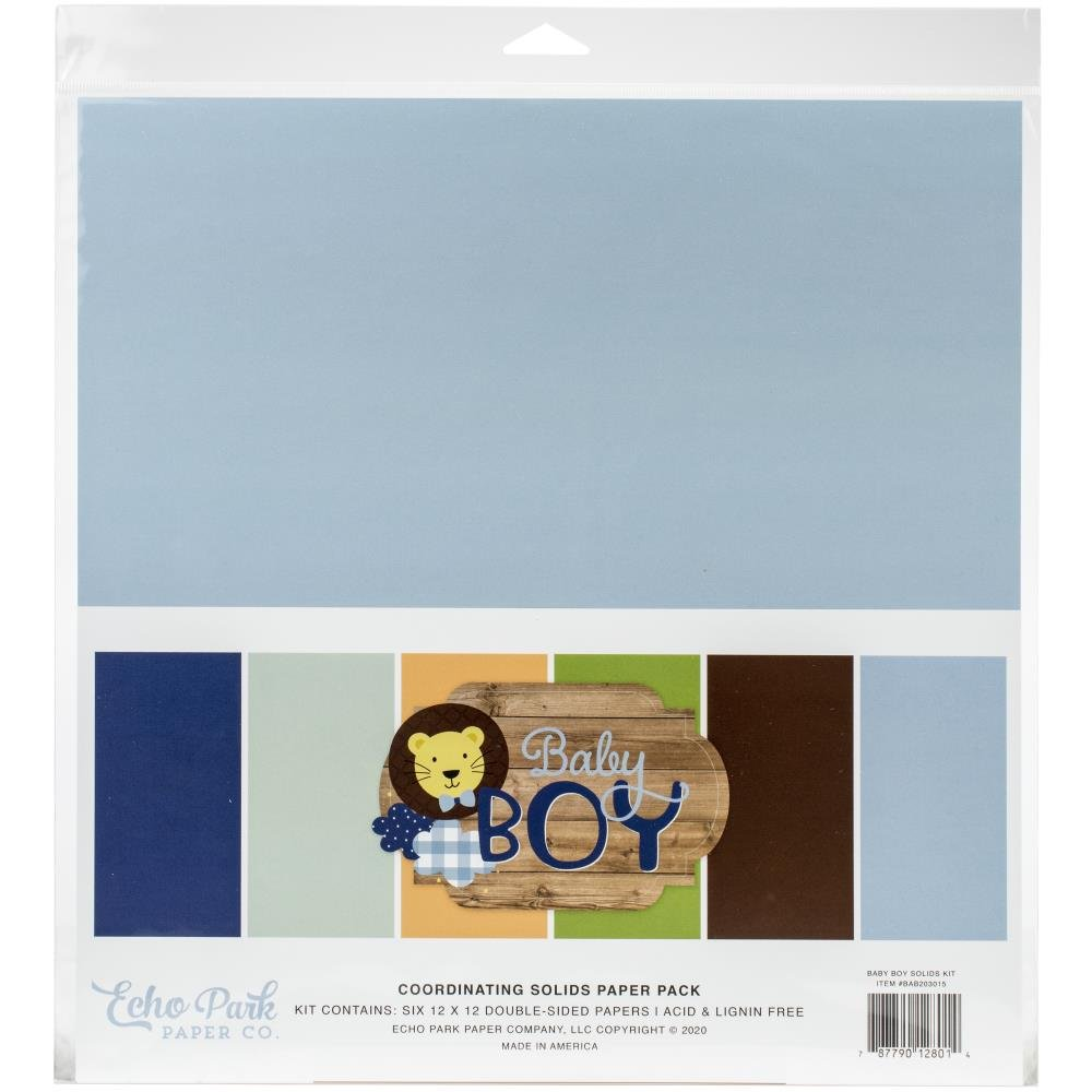 Baby Boy Solids Pack