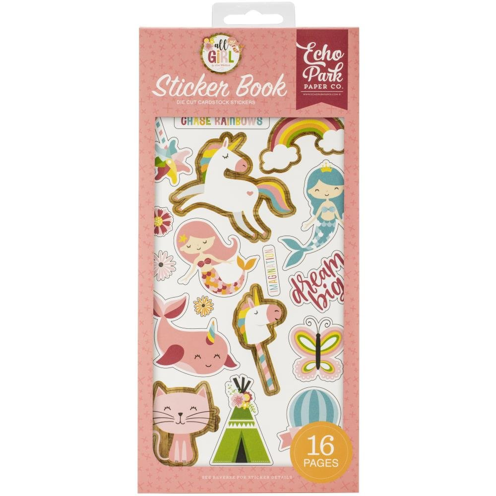 All Girl Sticker Book