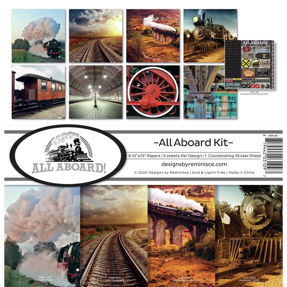 All Aboard-Collection Pack