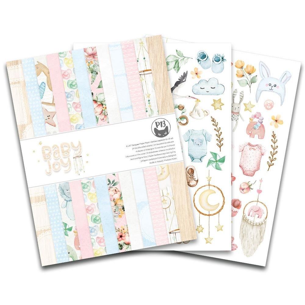 Baby Joy 6x8 Paper Pad