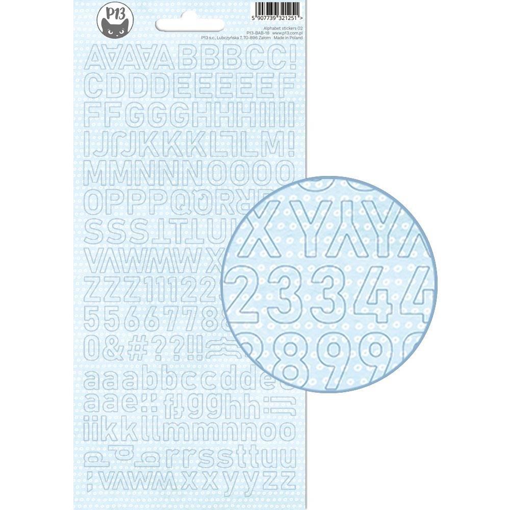 Baby Joy Alphabet Stickers-Blue