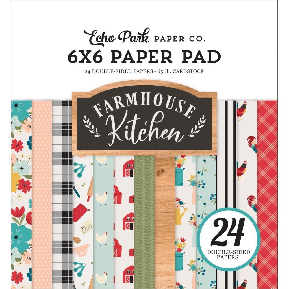 Farmhouse Kitchen 6x6 Paper Pad