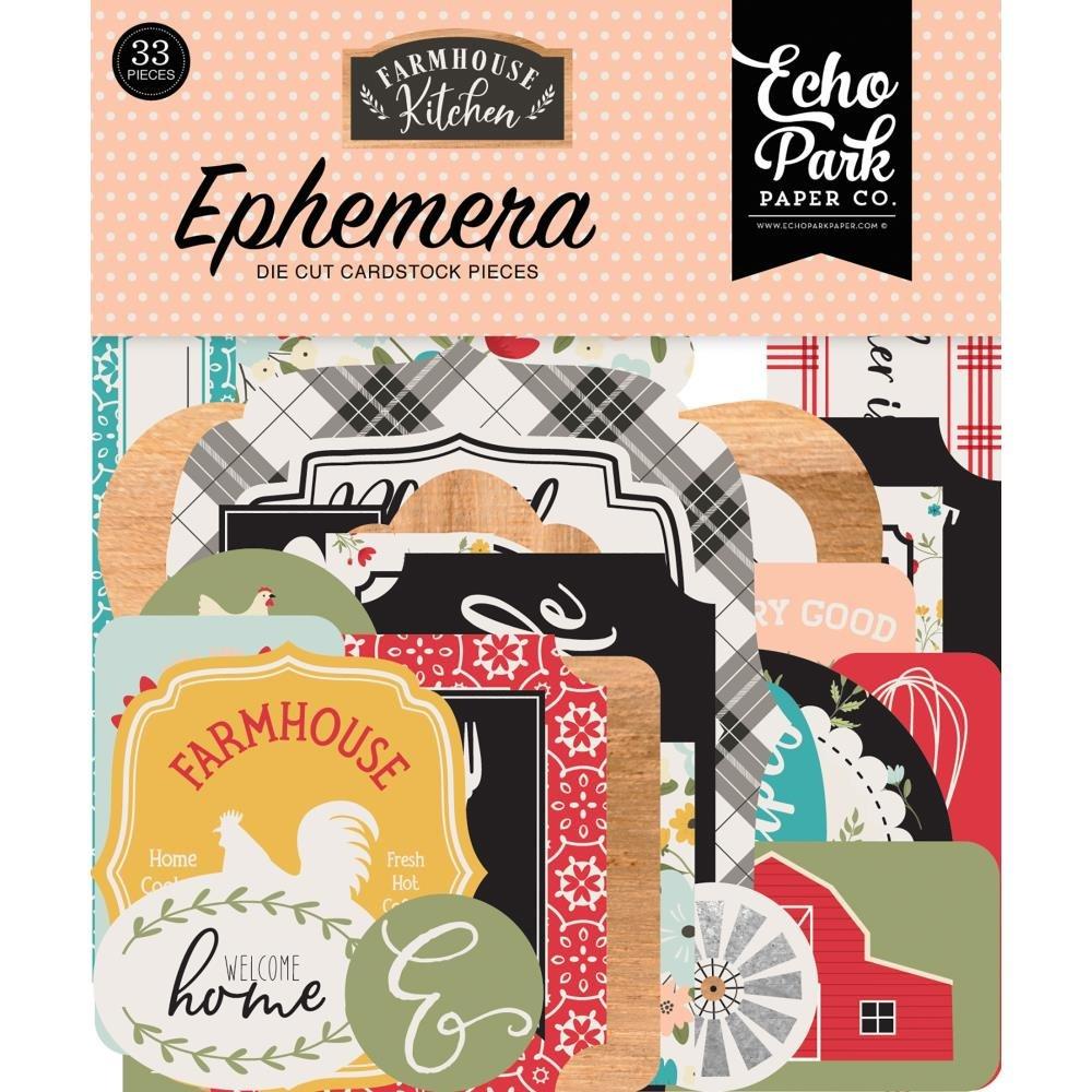 Farmhouse Kitchen Ephemera Icons