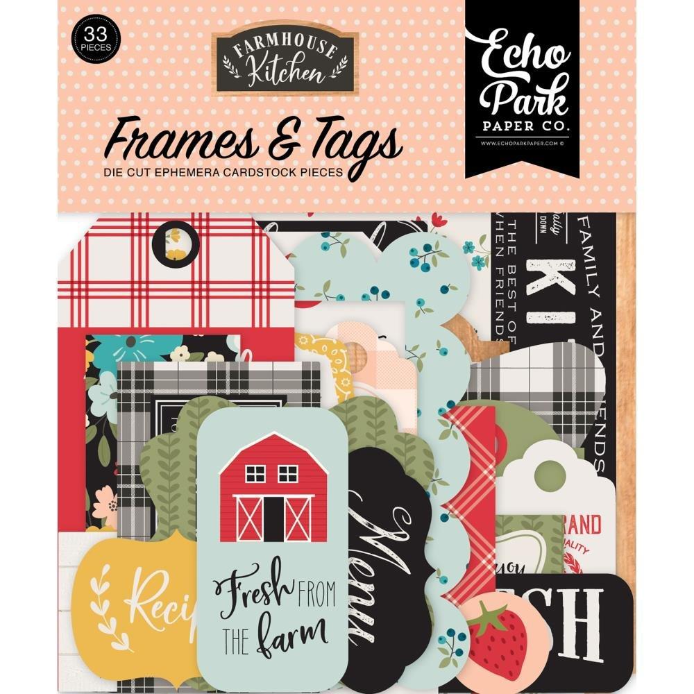 Farmhouse Kitchen Ephemera Frames & Tags