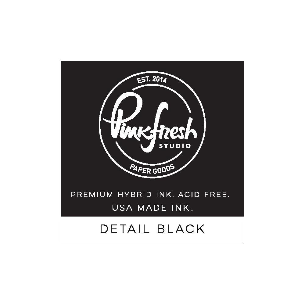 Pinkfresh Studio Ink Cube-Detail Black (hybrid)