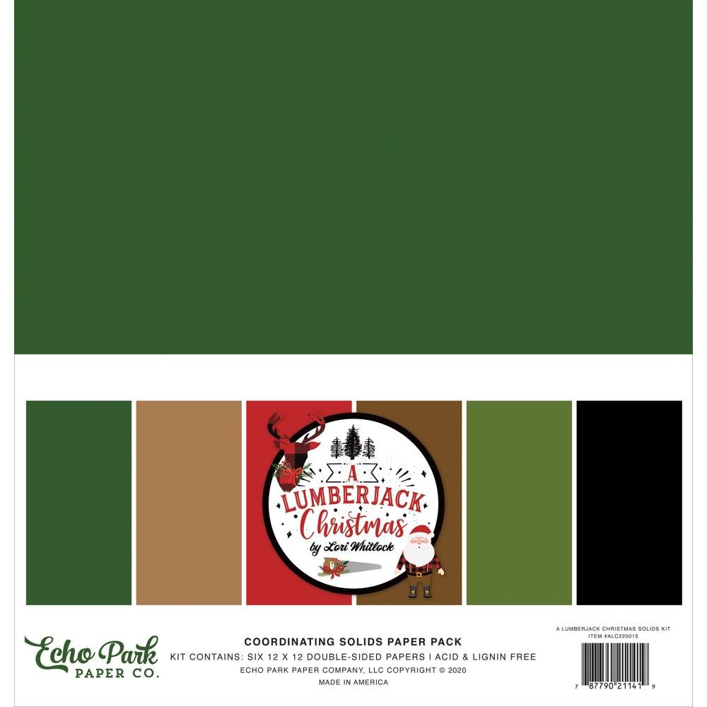 A Lumberjack Christmas Solids Pack