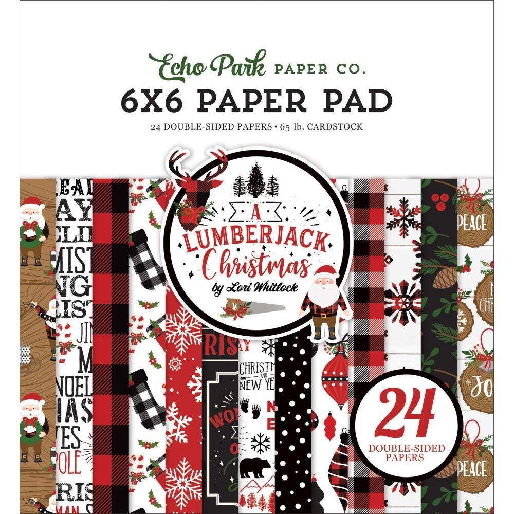 A Lumberjack Christmas 6x6 Paper Pad