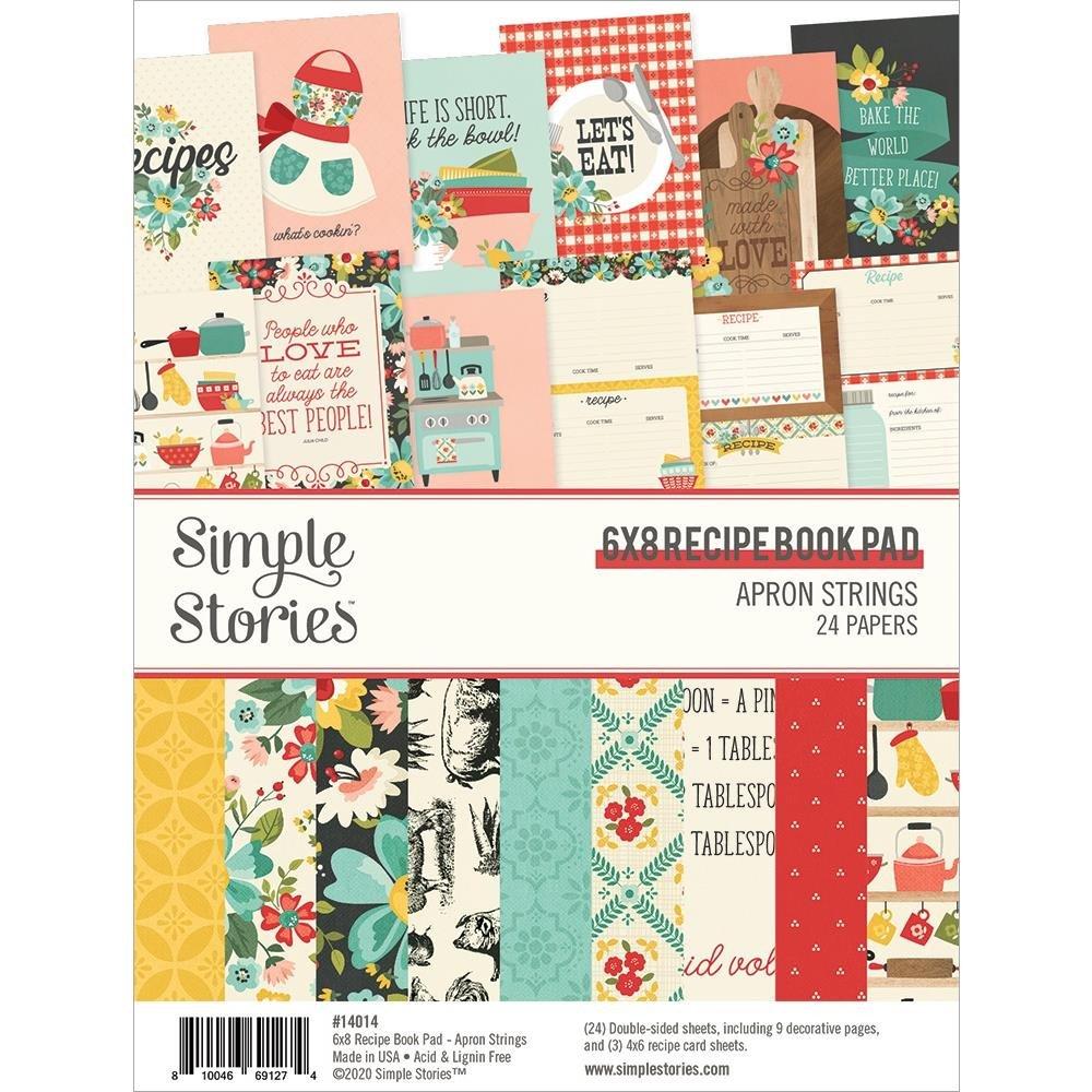 Apron Strings 6x8 Recipe Book Paper Pad