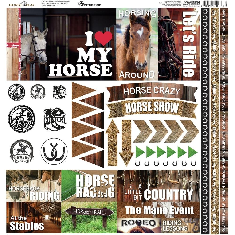 Horseplay Element Stickers