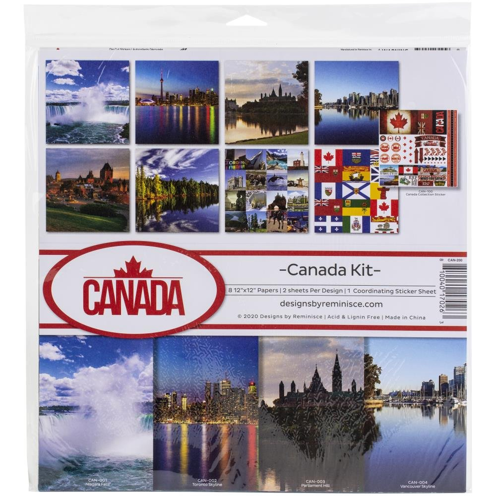Canada Collection Pack