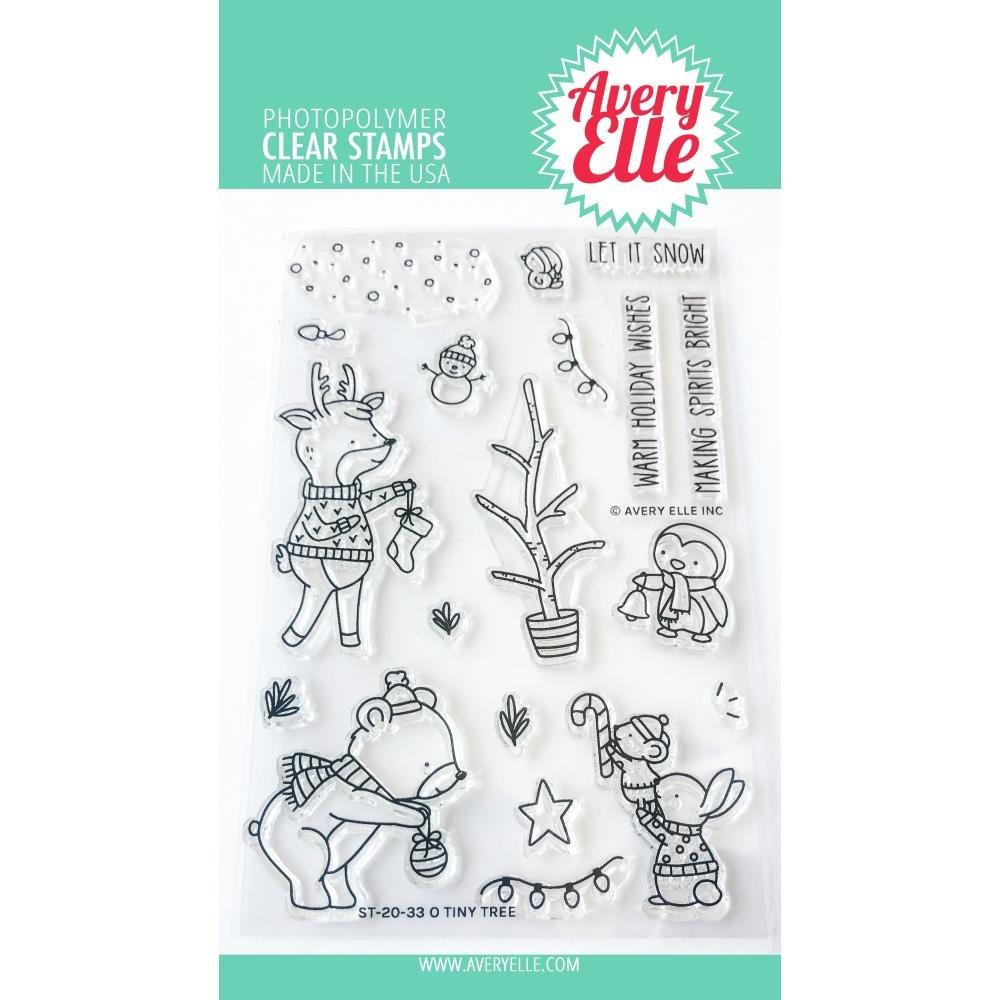 Avery Elle-O Tiny Tree Stamp & Die Bundle