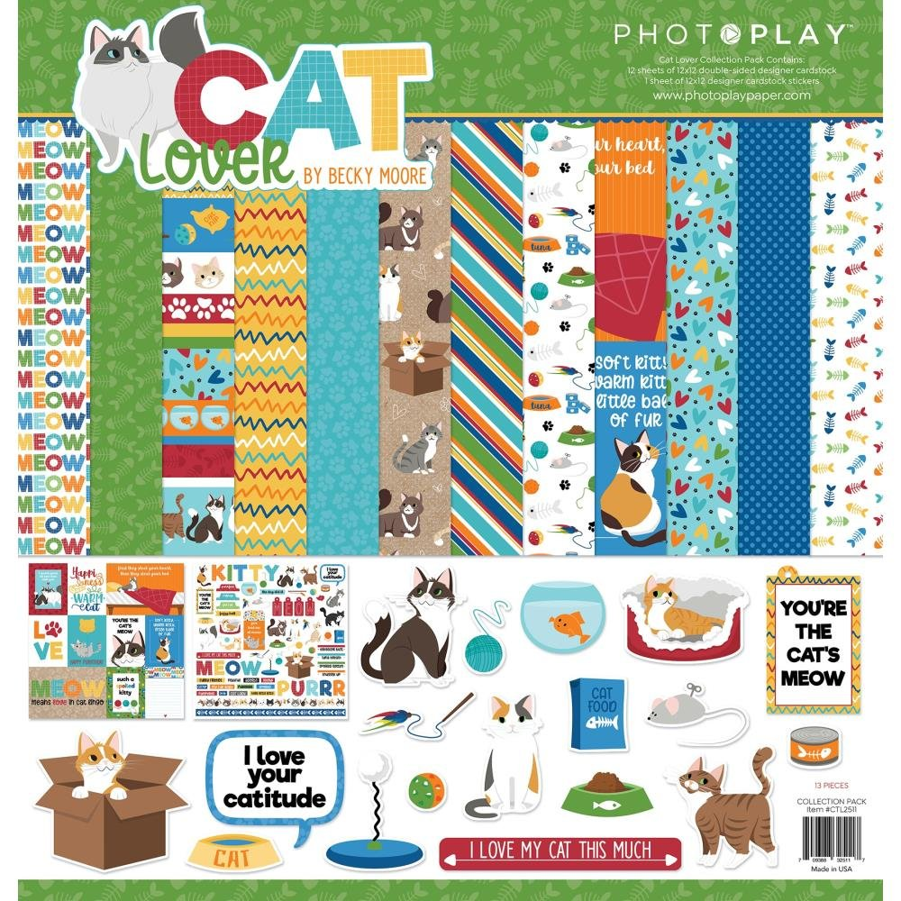 Cat Lover Collection Pack