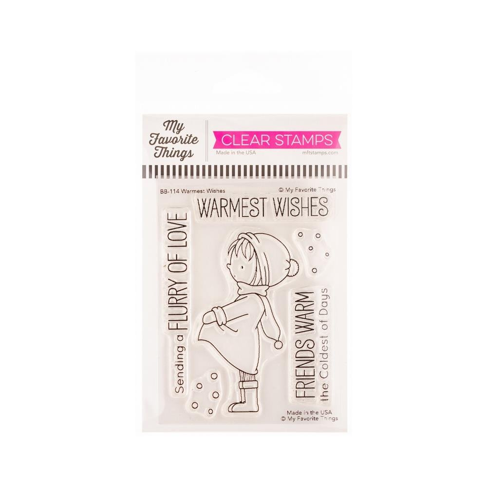 My Favorite Things-Warmest Wishes Stamp