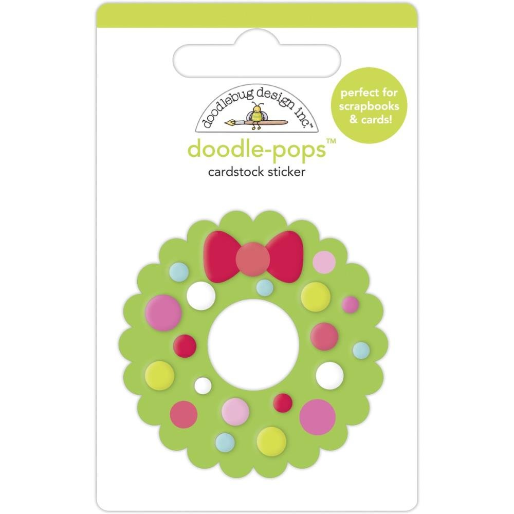 Night Before Christmas Doodlepop-Welcome Christmas Wreath