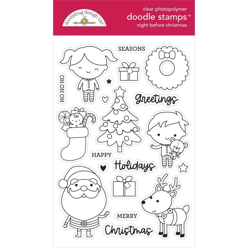 Night Before Christmas Stamp & Die Bundle