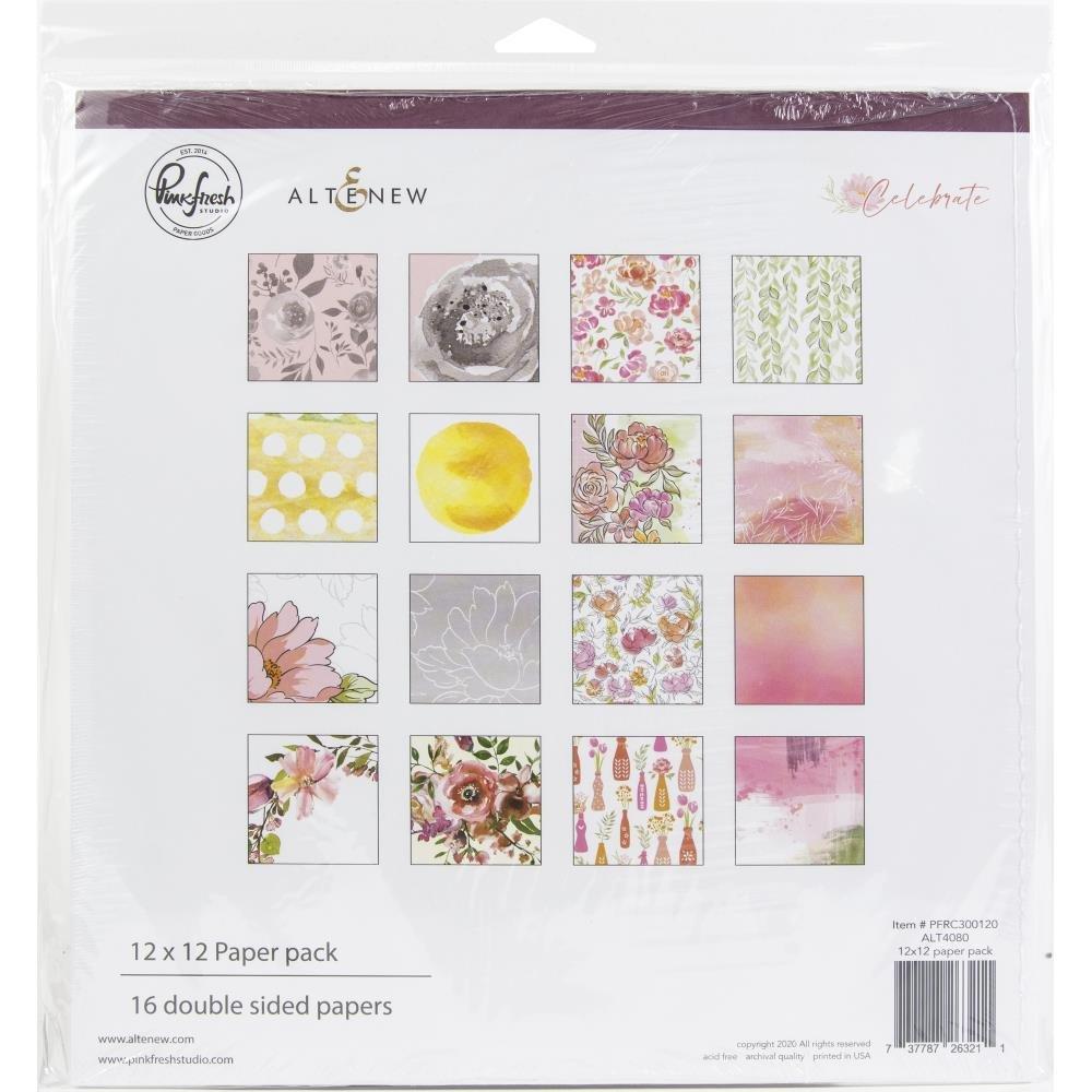 Celebrate 12x12 Paper Pack