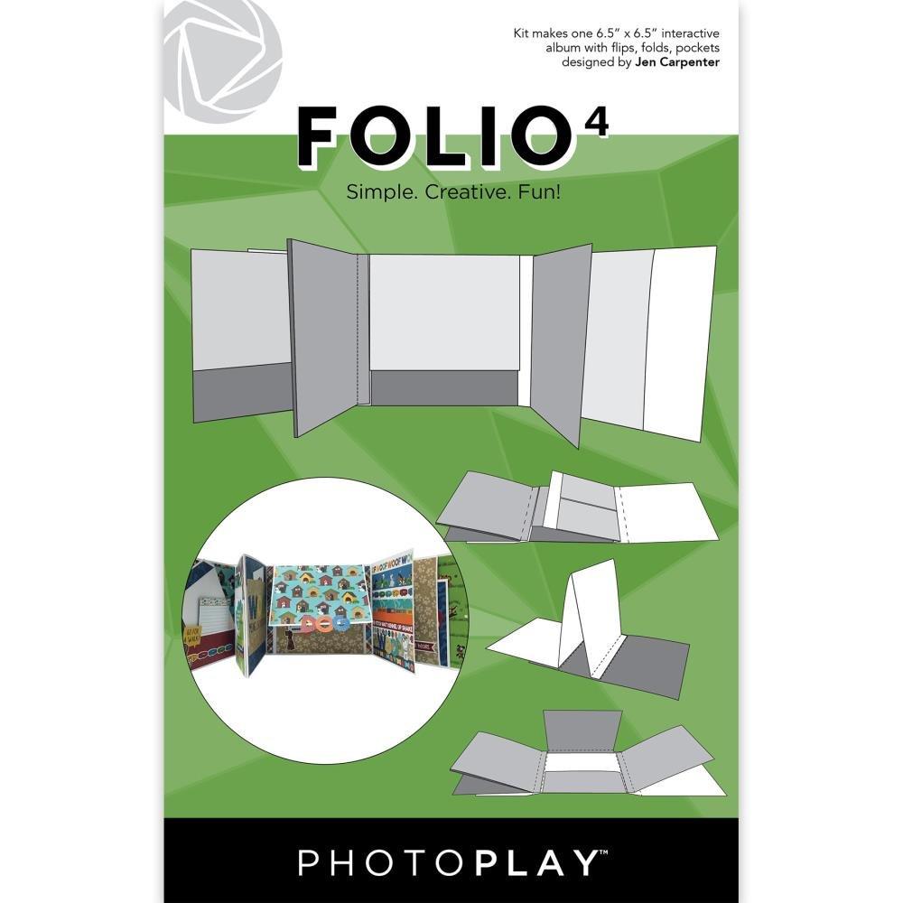 Photoplay Folio 4-White