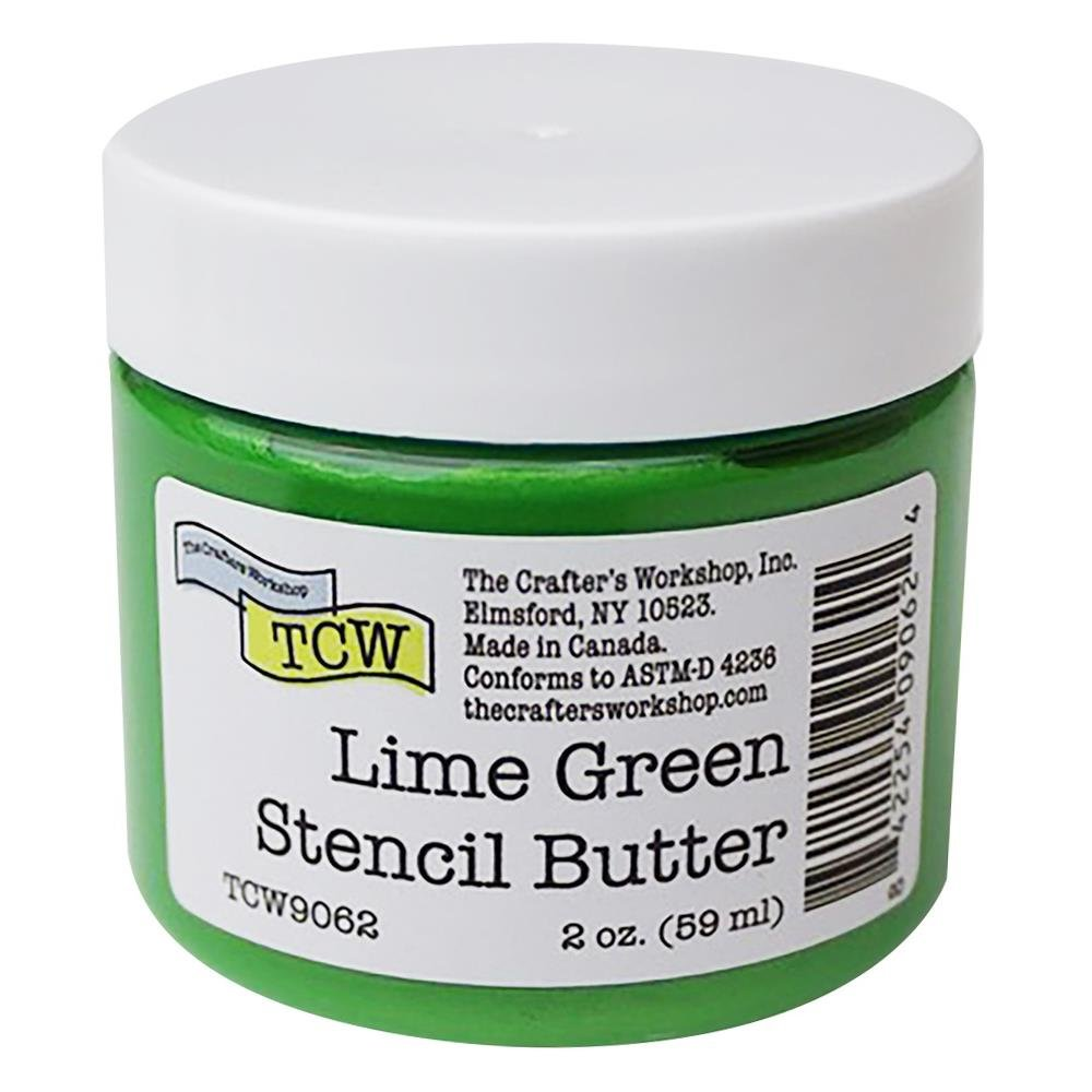The Crafter's Workshop Stencil Butter-Lime Green