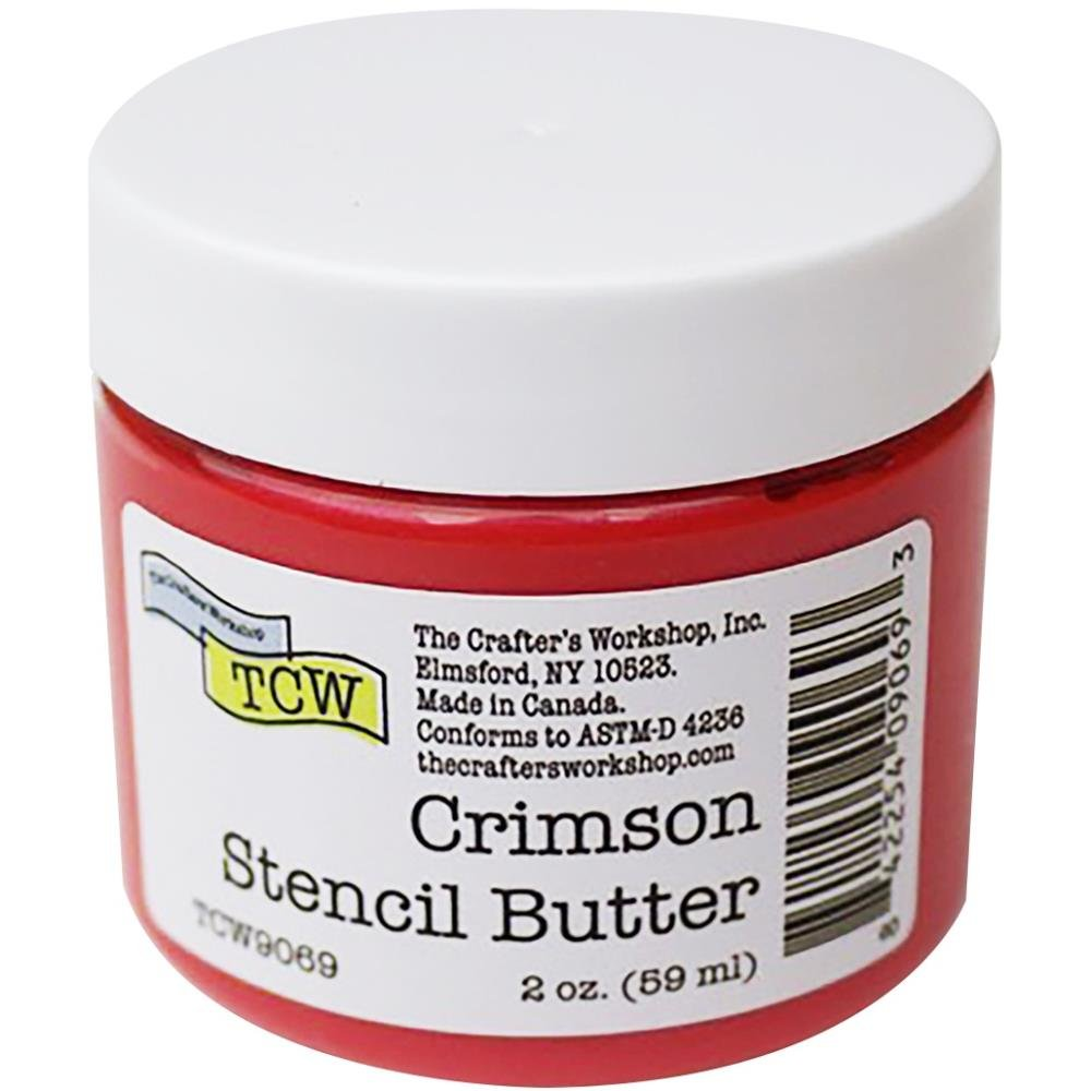 The Crafter's Workshop Stencil Butter-Crimson